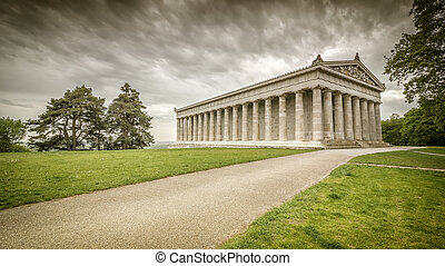 Walhalla - An image of the Walhalla in Bavaria Germany