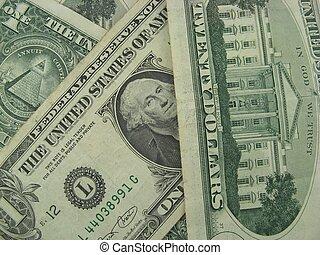 Dollars bank notes