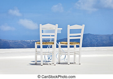 two chairs in the sun