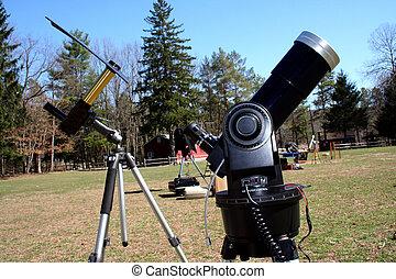 Two Solar Telescopes