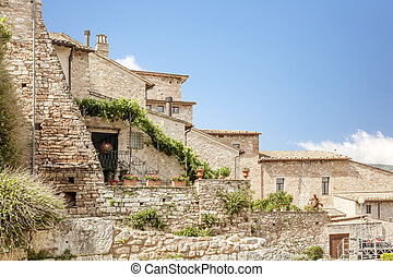 typical houses in Italy