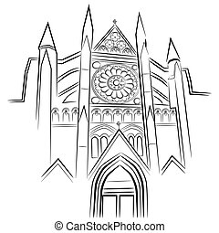 An image of Westminster Abbey.
