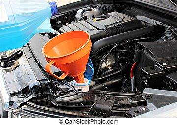 An image of windscreen fluid