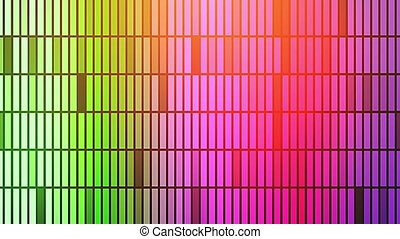 An iridescent colorful disco background, a flash of light. -...