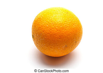 An isolated orange