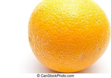 An isolated orange