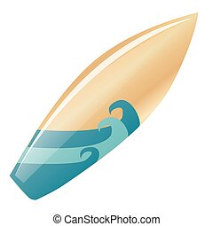 surfboard - an isolated surfboard with a beautiful design on...
