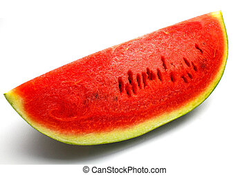 An isolated water melon