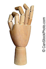 Artist's Wooden Jointed Hand