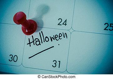 Halloween concept.