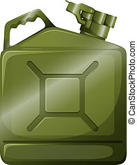 An oil container