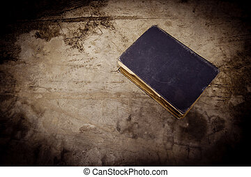 An old book on grunge background
