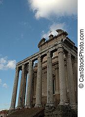 old Italian temple