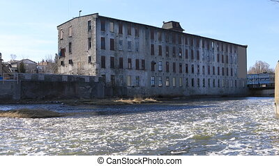 Old mill in Cambridge, Canada - An Old mill in Cambridge,...