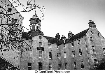 An old Psychiatric hospital in Perth Scotland