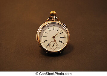 An old stopwatch - A very old stopwatch.