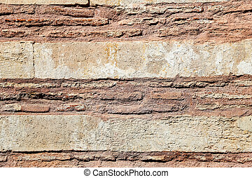 An Old Wall as Background