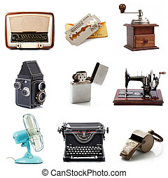 original great vintage objects collection - an original...