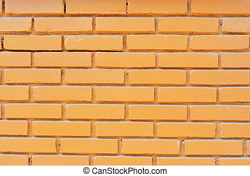 Red brick wall in soft light