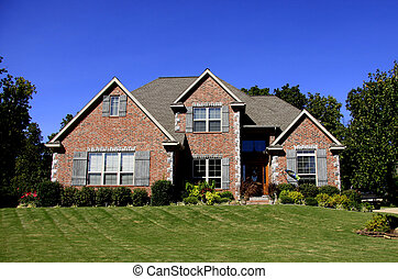 An Upscale Home - A beautiful brick home somewhere in middle...