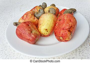 anacardo, fruta