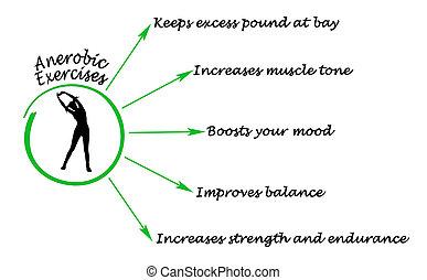 anaerobic, ejercicio, beneficios