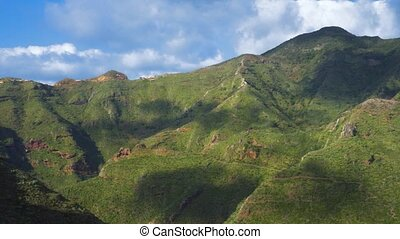 Anaga natural park in Tenerife, Canary islands, Spain. -...