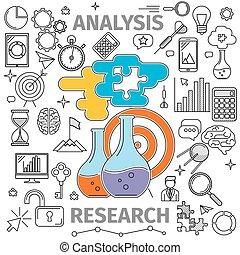 analisi, ricerca, concetto