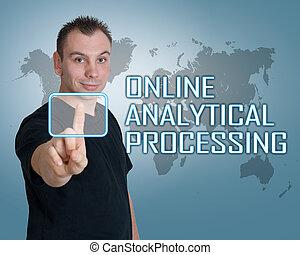analityczny, poddawanie procesowi, online