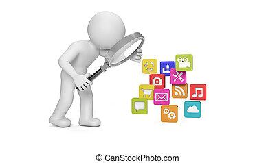 analizar, apps