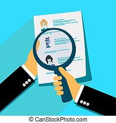analizar, solicitantes, resumen