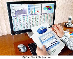 analizing, daten