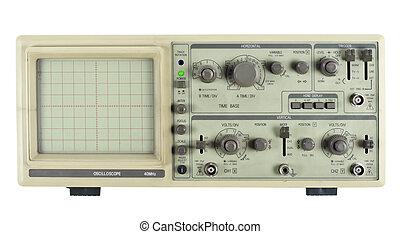 analog, altes , oszilloskop