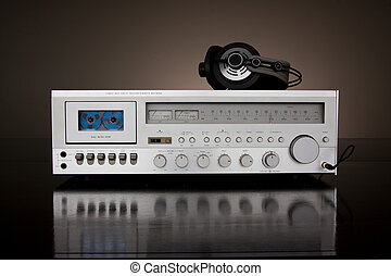 Analog Audio Stereo Cassette Tape Recorder