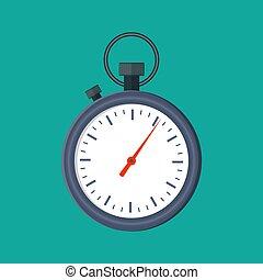 Analog chronometer timer counter,