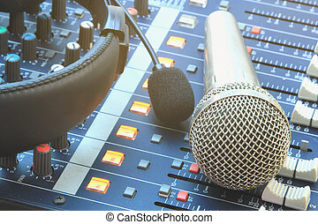 Analog recording equipment - Analog music recording...