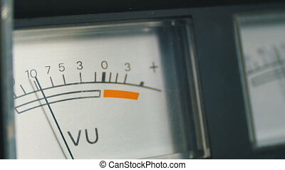 Analog signal indicator. Dial Indicator Gauge Signal Level...