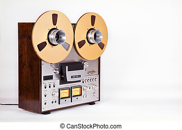 Analog Stereo Open Reel Tape Deck