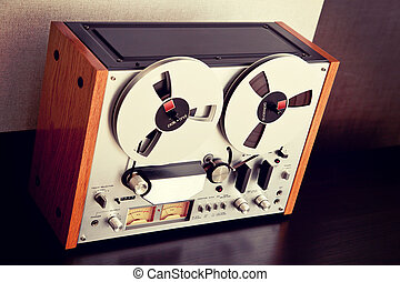 Stereo Open Reel Tape Deck Recorder Vintage