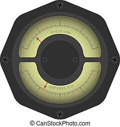 Analogic instrument