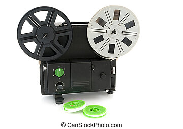 analogue movie projector,