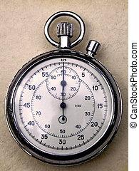 Analogue stopwatch - Precision retro pocket analogue ...