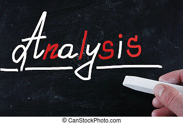 analyse, concept