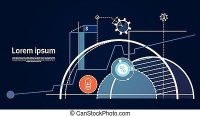 analyse, finance, graphique, financier, business, diagramme
