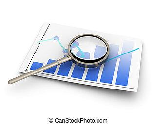 analyse, financier