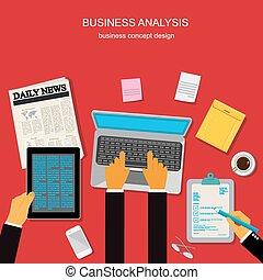 analyse, firma
