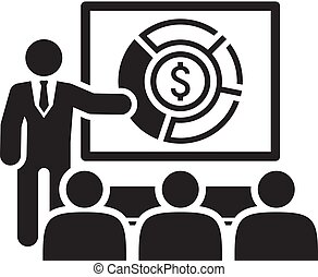 analyse, icon., markt, concept., zakelijk