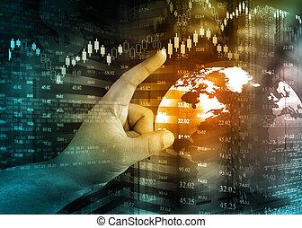 Analyse Stock market graph