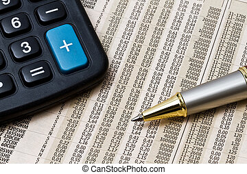 analysieren, börse