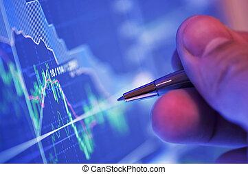 analysieren, markt